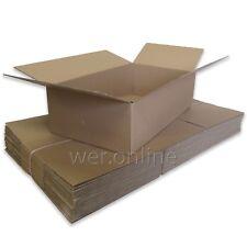 "20 Large Mailing Storage Cardboard Boxes 24.5x14x7"" SW"