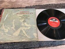 PAUL KLETZKI EMMY LOOSE MAHLER SYMPHONY NO 4 33 RPM LP