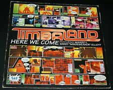 "TIMBALAND HERE WE COME FEAT. MAGOO & MISSY ELLIOTT NR. MINT DJ DANCE 12"" VINYL"