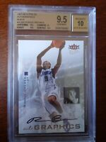 2007-08 Fleer Ultra Autographic Ronnie Brewer Auto BGS 9.5/10