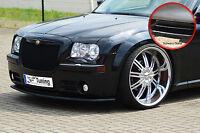 Spoilerschwert Frontspoiler aus ABS für Chrysler 300C LX ABE schwarz glänzend