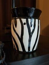 Zebra Full Size Scentsy Warmer
