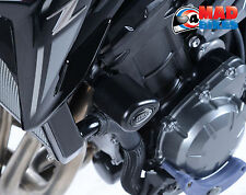 Kawasaki Z900, 2017- (cp0418bl) Negro r&g aero- PARACHOQUES BOBINAS