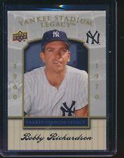 2008 Upper Deck Yankee Stadium Legacy Final Season Box Set #41 Bobby Richardson