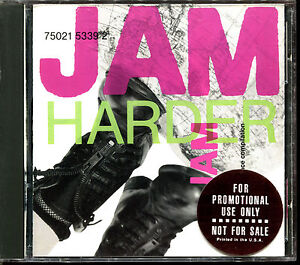JAM HARDER THE A & M UNDERGROUND DANCE COMPILATION 12'' MIXES - PROMO CD