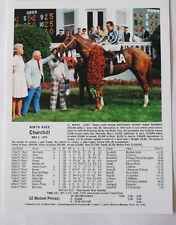 Secretariat Road to Triple Crown 1973 Kentucky Derby Preakness Belmont Prints