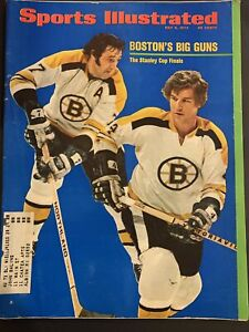 Sports Illustrated May 8 1972 Boston Bruins Stanley Cup Finals