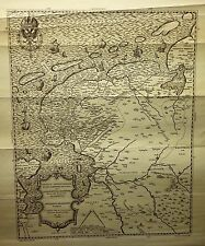 Facimile Map - FRISIAE ANTIOVISSIMAE TRANS RHENUM PROVING (TRAMEZINI) - 1928