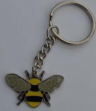 Bee Honey Bee Bee Keeping Quality Enamel Keyring