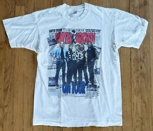 Vintage (1994) SAWYER BROWN The Boys and Me white CONCERT T-SHIRT Size L