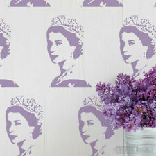Young Queen Stencil -Reusable Wall stencil -Wall Art - DIY - Famous Faces -10250