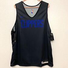 Nike LA Clippers Player Issued Practice Reversible Jersey NBA Size XL