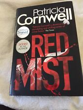 Special Signed First Edition Patricia Cornwell Red Mist H/B
