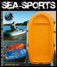 Bic Sportyak Orange-Weiss 213 Boot Ruderboot inkl. Ruder