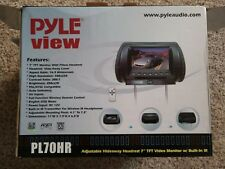 New Pyle view adjustable headrest with LCD monitor DVD player IR/FM Transmitter