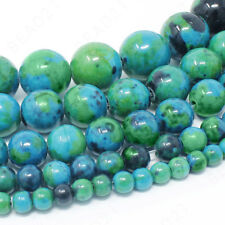 Natural Gemstone Beads Round 4mm 6mm 8mm 10mm 12mm 15.5