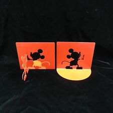 Disney Mickey Mouse Michael Graves Silhouette Cutout Bookends