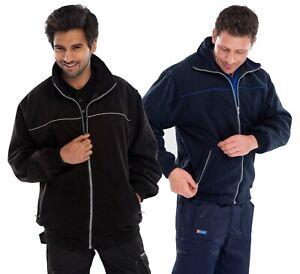 Click EN28 EN29 Endeavour Fleece Jacket Navy Black Sizes S - XXXL