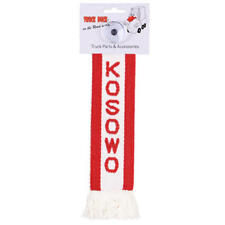 LKW Auto Minischal Kosowo Kosovo Mini Schal Wimpel Saugnapf Spiegel Flagge Fahne