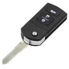 Mazda 2 3 5 6 MX5 RX8 3 Button Flip Remote Key Fob Case Right Blade Key