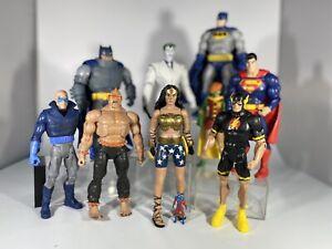 Mattel DC Universe Classics Multiverse Dark Knight 9 Action Figure Set Loose