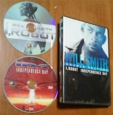 Double Feature:  Independence Day/I, Robot ~ Will Smith - 2-DVD Set, 2 Movies