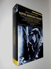 TUTTO SHERLOCK HOLMES Arthur Conan Doyle NEWTON & COMPTON ALLEGATO EDITORIALE