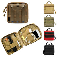 Outdoor Molle Phone Medical Tools Storage Bag Magazine Pouch Accessory Case Bag