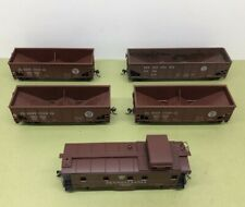 More details for 1:87 ho 1x caboose + 3x 2 bay + 1x 3 bay hoppers prr pennsylvania - pre owned