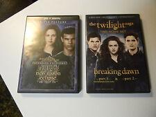 The Twilight Saga DVD COLLECTION ALL 5 FILMS
