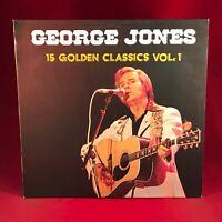 GEORGE JONES 15 Golden Classics Vol.1 - 1984 German Vinyl LP EXCELLENT CONDITION