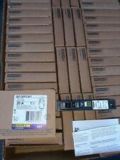 10 New Square D Breaker Qo120pcafi 1pole 20a 120v Plug On Neutral No White Wire