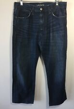 Lacoste Denim Blue Jeans Devonlay 8249 Men's Size 33