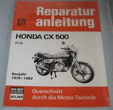 Repair Manual Honda Cx 500 V2, Year of Construction 1978 - 1983
