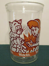 Collectible Welch's Jelly Jar/Glasses TOM AND JERRY THE MOVIE 1993
