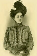 Vintage 1900s knitting pattern- How to make a stylish Victorian knitted Jacket