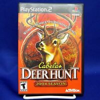 PS2 Cabela's Deer Hunt: 2004 Season (Sony PlayStation 2, 2003) No Manual