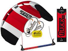 HQ Fluxx 1.3 Trainer Kite Kiteboarding Foil Power Surf Kitesurf Value Low Cost