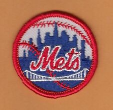 OLD 1970's NY NEW YORK METS STITCHED LOGO PATCH UNSOLD UNUSED STOCK QTY DISCOUNT