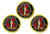 Macalister Écossais Clan Marqueurs de Balles de Golf