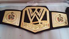 B WWE MATTEL Cinturón De Campeonato algunos diamantes caído de la correa y falta