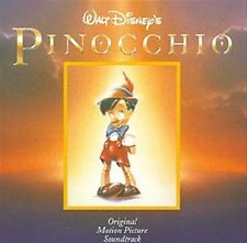 Walt Disney's Pinocchio Soundtrack CD NEW Remastered When You Wish Upon A Star+