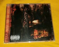 W.A.S.P. cd DYING FOR THE WORLD wasp  free US shipping