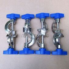 4Pcs Lab Stands Boss Head Clamps Holder Laboratory Metal Grip Supports