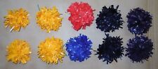 New Shoe Poms Various Colors Pairs Cheerleader Cheer Small or Large