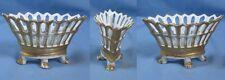 Intéressant Vase Navette sur Pieds d'époque EMPIRE