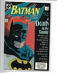 Batman A Death in the Family 4 Issue Comic Book Set 426-429 All Issues N. M.