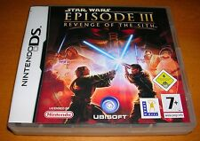 Nintendo DS Star Wars Episode III Revenge of the Sith Spiel Ubisoft Lucas Arts