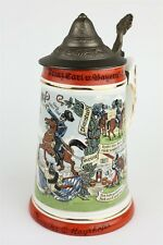 Musical German Stein w/ Music Box Oberreiter Mayrhofer