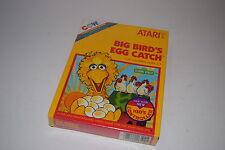 BIG BIRD'S EGG CATCH Sesame Street Atari 2600 Video Game NEW In BOX